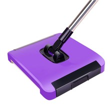Magic Sweeper Hand Push Sweeper Spinning Broom Sweeping Hand Push Mop Magic Spin Broom Cleaner Hand Sweeper(China)