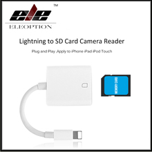 Buy Lightning SD / TF Card Camera Reader Compatible OTG Data Cable iPhone 8 7 7 Plus 6 6s Plus 5 5s iPad Series for $10.34 in AliExpress store