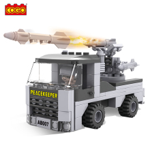 2017 Direct Selling New Arrival 93pcs Plastic Building Blocks Energy Army Car Juguetes Bricks Diy Educational Toys for Children