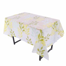 Hot New 130cm x 180cm 11 Colors PVC Table Cloth Cover Square Waterproof Oil Proof Dining Tablecloth Transparent PVC Tablecloth