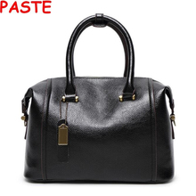 High quality Genuine leather Women bags Famous brand designer Luxury leather handbags fashion Women messenger bag Shoulder Bags
