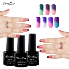 saroline 8ml Temperature Changing Color Gel Nail Polish Cosmetics Nail Art Soak Off cheap UV Gel Varnish vernis semi permanent