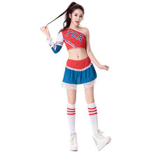 New Football Baby Costume Sexy Women Cheerleading Team Sets Fantasy Soccer Cosplays Deguisement Halloween