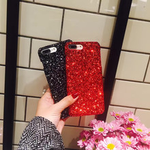Luxury Sexy Diamond Secret Glitter Bling Powder Sequins Case For iPhone 5 5s SE Sparkle Cover Women Case For iPhone 7 6 6s Plus