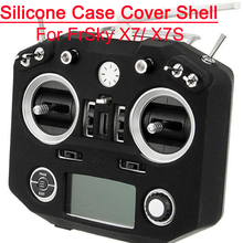 Transmitter Silicone Case Cover Shell Spare Part for FrSkY ACCST Taranis Q X7 X7S(China)