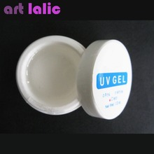 3 Pcs 1/2oz Shiny Crystal CLEAR UV BUILDER GEL for NAIL ART Tips Manicure Free Shipping