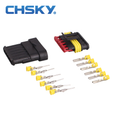 CHSKY 2 pieces 6 pins wire connector sealed Waterproof hid Connector model Dj7061Y-1.8 Modified Car Plug