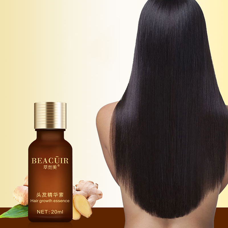 Natural Damage Repairing Ginger Hair Loss Products Hair Growth Hair Care Oil Beauty Women Products 1