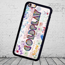 Popular Colorful Coldplay  Phone Phone Cases Accessories For iPhone 6 6S Plus 7 7 Plus 5 5S 5C SE 4S Soft Rubber Cover Shell