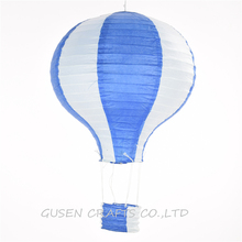 "3 PCS 12""/30CM royal blue Hot Air Balloon Paper Lanterns For Wedding Festival Party,baby shower Birthday party Decor"