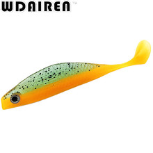 1Pcs 14cm 13.2g Fishing Lure Worm Swimbaits Jig Artificial Handmade Fly Soft Lure Shad Manual Silicone Bass Lure Pasca NE-399