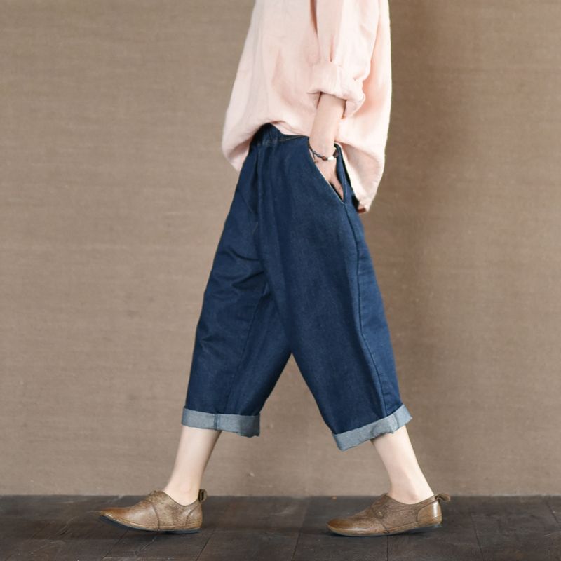 LYNETTES CHINOISERIE Women The - 836 story Spring Autumn Cotton Denim Pants JeansОдежда и ак�е��уары<br><br><br>Aliexpress