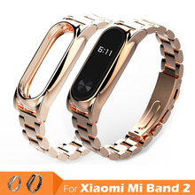Buy Replacement Metal Stainless Steel Belt Xiaomi Mi Band 2 Smart Miband Wrist Strap Bracelet Miband2 Wristband Band2 Watchband for $9.83 in AliExpress store