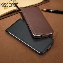 KISSCASE Retro 100% PU Leather Case for iPhone 4 4S 5S 5 SE 6 7 Luxury Vertical Magnetic Flip Phone Bag Cover for iphone 4S 5S