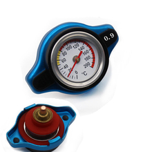 Genuine Car Thermostatic Gauge Radiator Cap 0.9 bar Small Head Water Temp Meter