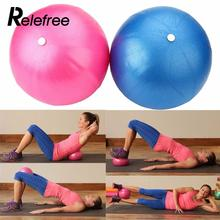Relefree Mini Yoga Ball Physical Fitness Ball for Fitness Appliance Exercise Balance Ball Home Trainer Pods Pilates