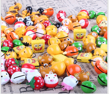 Pet charms bead cartoon cute small ones bells Mouse,Garfield,little monkey,spongebob squarepants, Dog Accessories pet pendant