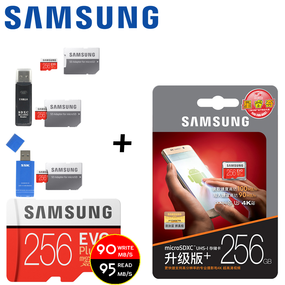 SAMSUNG Micro SD Card 128GB 64gb 32gb 256gb 100Mb/s Class10 U3 Microsd Memory Card Flash TF Card for Phone with Mini SDHC SDXC(China)