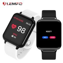 LEMFO спортивные умные часы для женщин и мужчин водонепроницаемые Смарт-часы с пульсометром кровяное давление Smartwatch для Android Apple IOS Телефон