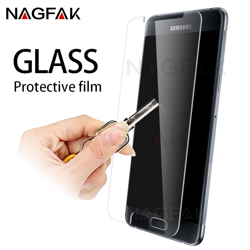 NAGFAK Anti-Scratch Tempered Glass Samsung Galaxy J3 J5 J7 2016 2015 Screen Protector A3 A5 A7 2016 2017 Protective Glass