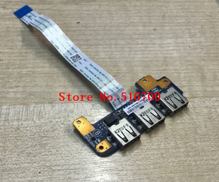 SPARE PARTS For Sony VAIO SVE14 SVE141J11W SVE14122CVW USB Board IFX-619+ Cable Tested