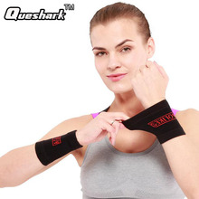 1 Pair Elastic Wristband Basketball Volleyball Weightlifting Wrist Support Tennis Wrist Brace Support