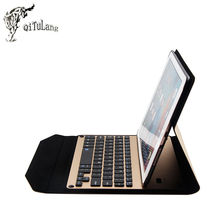 QITULANG Bluetooth Keyboard Case for iPad Pro 9.7 inch Bluetooth Keyboard Case Flip case for iPad pro 9.7'' with kickstand(China)