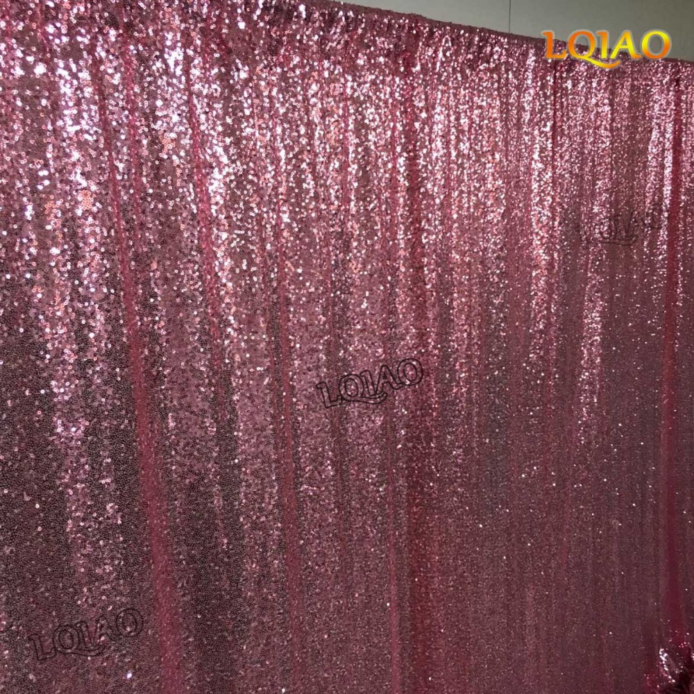 Pink Gold Sequin Backdrop-010