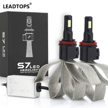 Led H4 Car Headlights Car Led Light Bulbs H4/HB2 9004 9007 H13 Hi/Lo Automobiles H1 H7 H11 LED Headlamp Fog Lamps Xenon White EE
