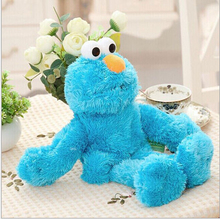 "1pcs 12"" 30cm Sesame Street Soft Plush Doll toys Blue hand puppet  Elmo/Cookie Monster/Grover"