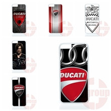 Capa Ducati Moto Logo For Apple iPhone 4 4S 5 5C SE 6 6S 7 Plus 4.7 5.5 iPod Touch 4 5 6