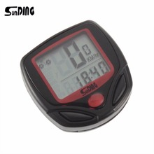 SunDing SD-548B Bike Computer LCD Display Backlight Bicycle Speedometer Cycling Stopwatch