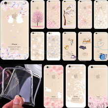 Best Quality Painting Flowers Fresh Fruit Silicon Phone Cover Cases For Apple iPhone 4 iPhone 4S iPhone4S Case Shell Best Top(China)