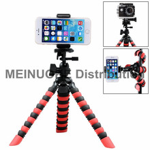 Flexible Tripod w/ Phone Holder for DSLR /Smartphone / Gopro Hero / SJCAM Xiaoyimi Action Cameras,  Mobile Phone Tripode Mount