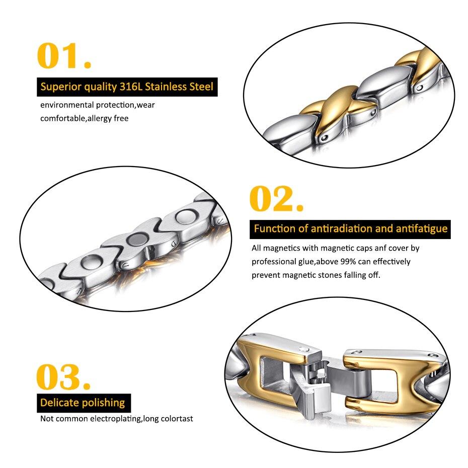 OSB-1970SG Popular stainless steel bracelet (3)