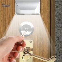 Hot Sell Wireless Auto Infrared IR Sensor Motion Detector Keyhole 4 LED night lights motion lights ambient light sensor