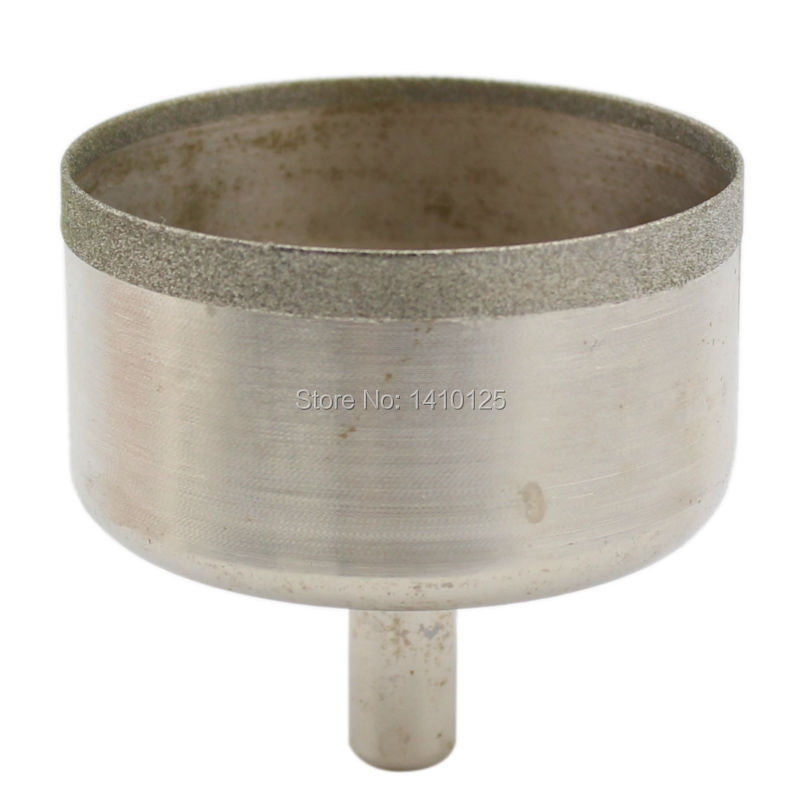 54mm Lapidary Super-thin Diamond Coated Core Drill Bit Hole Saw Masonry Drilling 0.6 mm Rim Save Materials for Jasper Gems Agate<br><br>Aliexpress