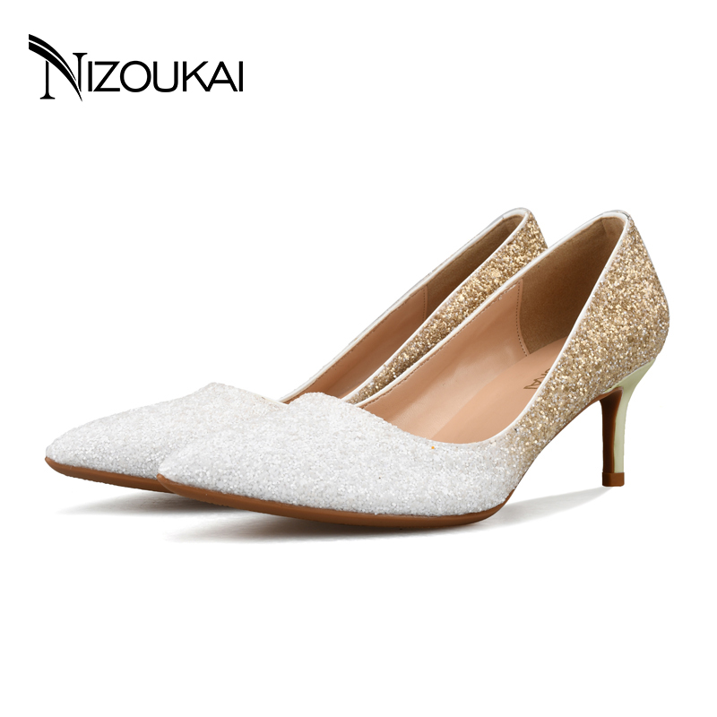 2017 New women shoes high heels pumps for woman Basic model Office&amp;Career Pointed Toe wedding shoes  35-44 d05-l6<br>