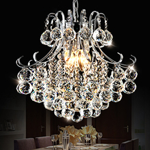 Crystal combinatio LED restaurant luxury European style living room lamp crystal Pendant Lights  bar creative personality SJ94