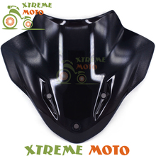 Black Motorcycle Windscreen Windshield For BMW S1000R S S1000 R 2015 2014 Motocross Motorbike Dirt Bike