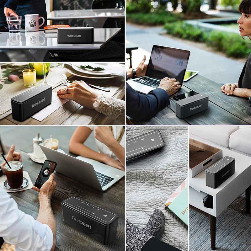 Tronsmart Bluetooth Wireless 3D Digital Sound TWS 40W Portable Speaker