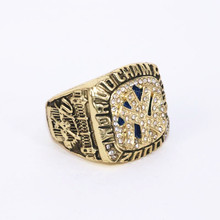 USA size 9 to 14! Factory wholesale price 2000 New York Yankee world championship rings replica JETER solid ring drop shipping(China)