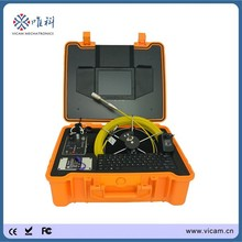 China manufacturer 30m underwater CCTV DVR video pipe inspection camera with meter counter V8-3188KC(China)