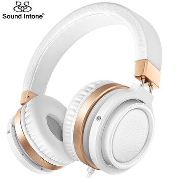 Sound Intone C1 Léger Pliable Casque avec Microphone et Contrôle Du Volume Casques pour iphone, Smartphones Android PC