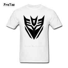 transformer Men T Shirt Pure Cotton Short Sleeve Crew Neck Tshirt Man's Tee Shirt 2017 Funny Picture T-shirt For Teenage