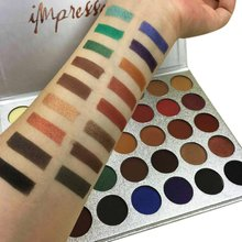 Beauty Glazed 35 Color Matte Diamond Glitter Eyeshadow Palette Cosmetic Professional Makeup Eyeshadow Palette