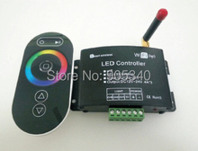 NEW  WiFi LED Controller RF wireless RGB Controlled by iPhone ,Android or IOS 4A*3CH, DC12-24V smart wifi RGB led controller