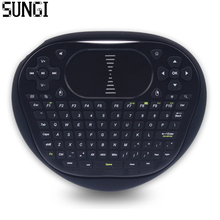 Sungi T8 Wireless Mini Keyboard 2.4G Air Fly Mouse Silicone Keyboard Muti-touch Touchpad For Android TV Box Notebook Tablet PC(China)