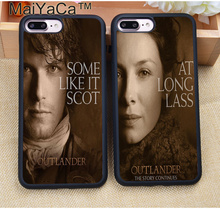 MaiYaCa OUTLANDER TV Jamie Fraser Printed Soft Rubber Skin Phone Cases For iPhone 6 6S Plus 7 7S Plus 5 5S 5C SE 4 4S Capa Para(China)