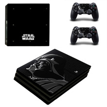 Buy Star Wars Darth Vader PS4 Pro Skin Sticker Sony PlayStation 4 Console 2 Controllers PS4 Pro Skin Stickers Decal Vinyl for $9.49 in AliExpress store